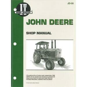 Shop Manual I&T Fits JD-50 Fits John Deere Tractors 4030 4230 4430 4630