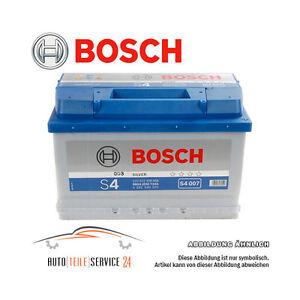 autobatterie original bosch silver s4 007 starterbatterie. Black Bedroom Furniture Sets. Home Design Ideas
