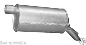 Auspuff hinten Endtopf Endschalldämpfer Galaxy Alhambra Sharan 1,9 2,0 2,8 TDI