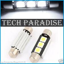 100x Ampoule Navette 39mm C3W C5W C7W C10W 3 LED Anti erreur CanBus Blanc White