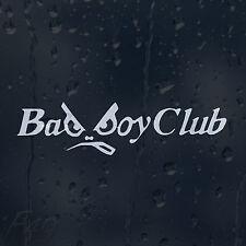 Bad Boy Club Car Decal Vinyl Sticker For Bumper Or Window Or Panel