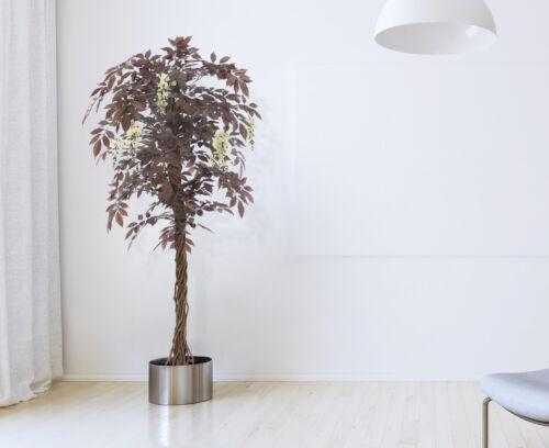 Künstliche Wisteria Baum Rot blühende japanische Künstliche Bäume Pflanze
