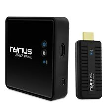 Prime Wireless Video HDMI Transmitter & Receiver for Streaming HD 1080p Nyrius