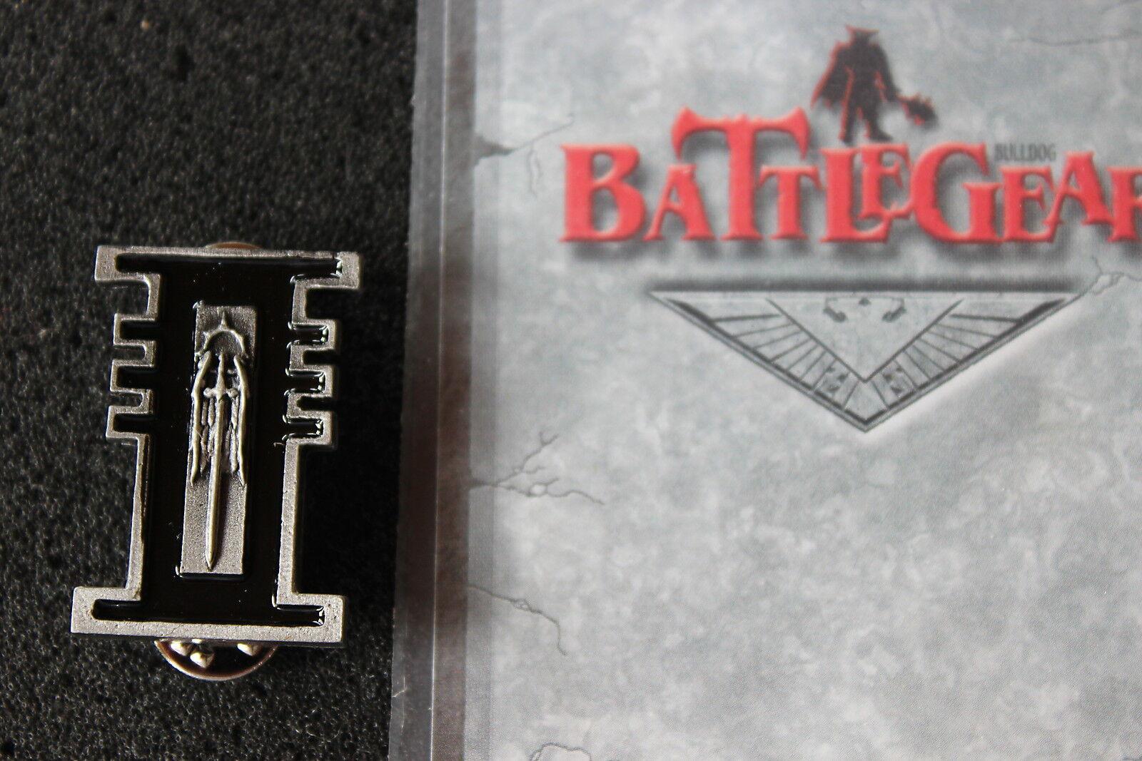 Games Workshop Warhammer 40k Inquisition Inquisitor Badge Battlegear Bulldog OOP