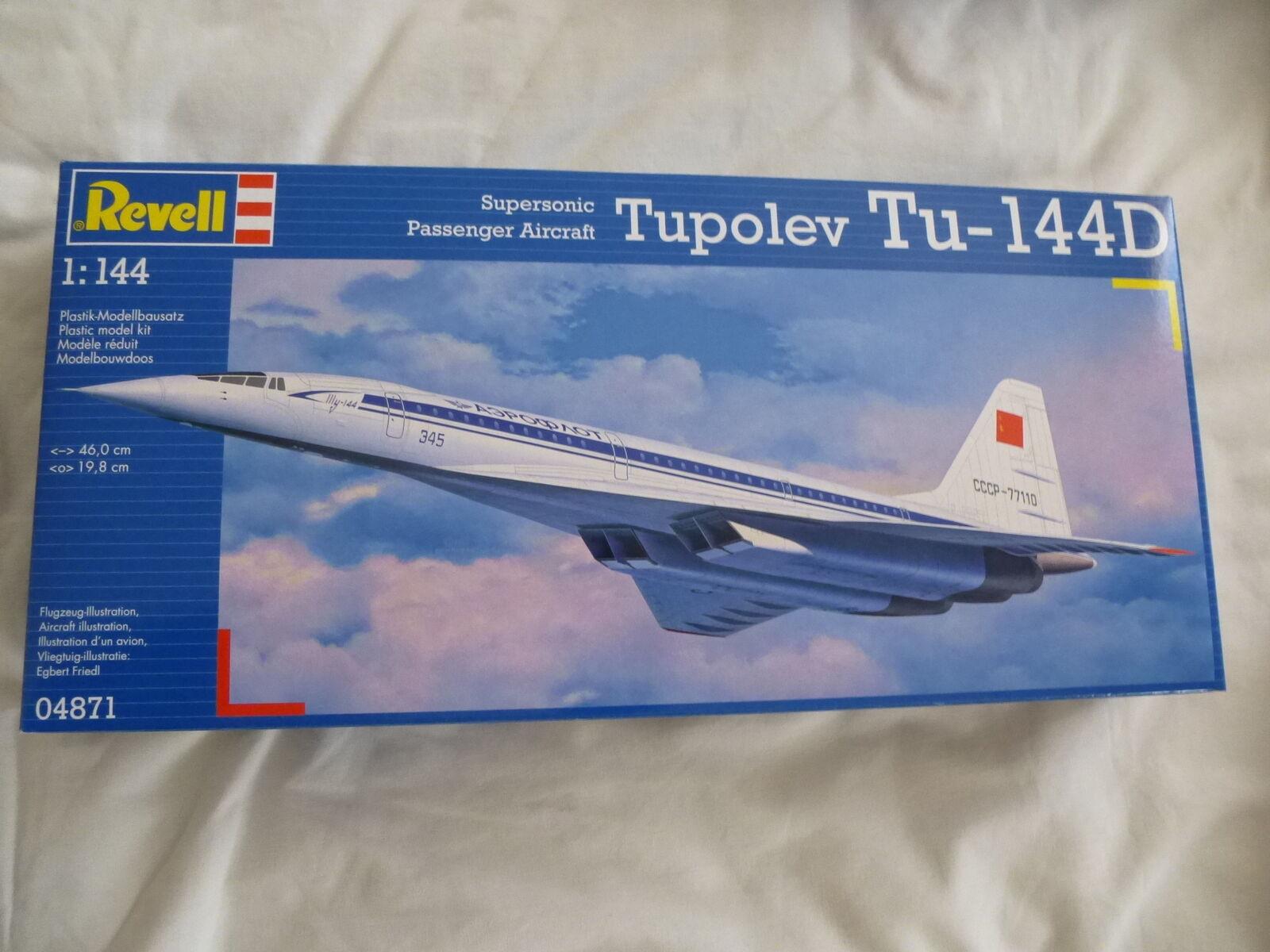 Revell 1 144 Tupelov Tu-144D