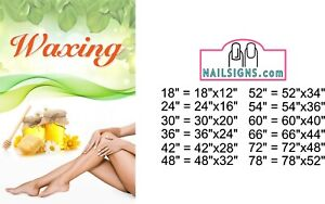 Massage X Perforated Mesh See Through Window Poster Sign Vinyl Body Horizontal