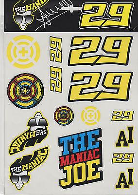 18 52205 Andrea Dovizioso 2018 Official  Sticker Set