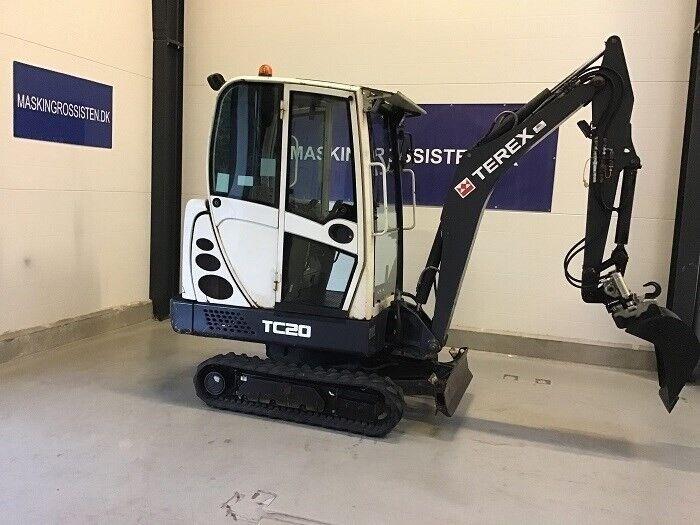 Minigraver, TEREX TC 20