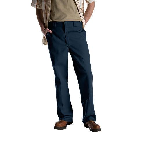 Mens DICKIES 874 Original Fit Work Uniform School Pants Trousers NWT Navy Color