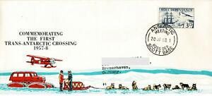 Polarpost Ross Dependency: SCOTT BASE 1958 - Antarctic Meeting