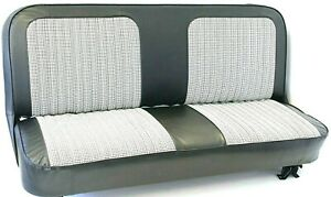 Miraculous Details About 67 72 Chevy Gmc C10 Truck Black White Houndstooth Bench Seat Cover Made In Usa Uwap Interior Chair Design Uwaporg