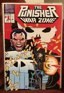 1991-Marvel-Comics-March-Issue-1-The-Punisher-War-Zone