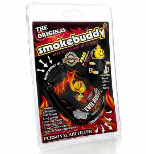 Smokebuddy Personal Air Filter Keeps second hand smoke away LIMITED EDITION