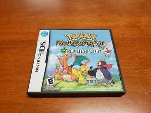 Pokemon-Mystery-Dungeon-Explorers-of-Sky-Nintendo-DS-CIB-Complete-Authentic