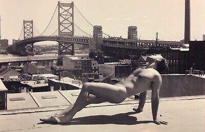 PHILADELPHIA 4x6—Self-portrait Landscape Nude Fine Art Photo Print—PABLO—Gay Int