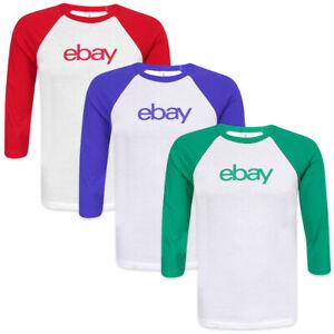 Unisex-Three-Quarter-Sleeve-Baseball-T-shirt