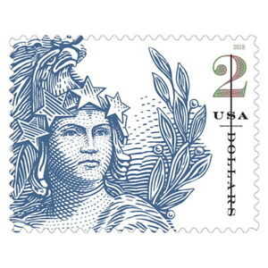 USPS-New-2-Statue-of-Freedom-Pane-of-10