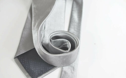 New The Best Men Silver Grey Gray Formal Work Business Wedding Necktie Neck Tie