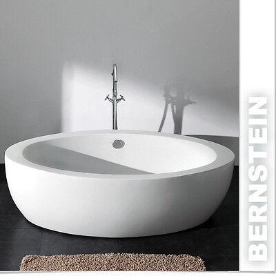 Freistehende Badewanne MODENA  ACRYL 185x91  inkl. Ablauf