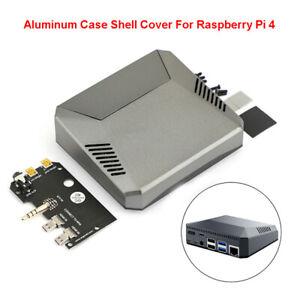 Multifonction-Aluminium-Shell-Case-Cover-Pour-Raspberry-Pi-4-Modele-B-ventilateur-de-refroidissement