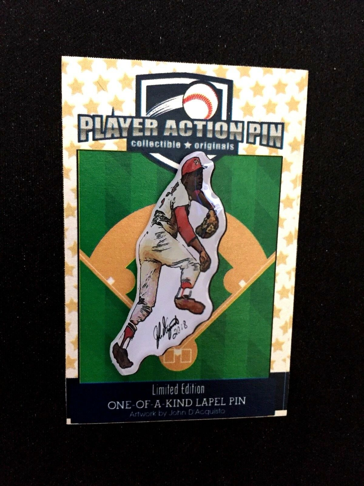 St. Louis Cardinals Bob Gibson jersey lapel pin-Classic Collectible- Gibby