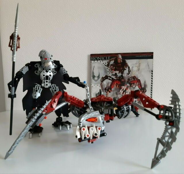 LEGO Bionicle 8764 Vezon and Fenrakk Complete Set Original Instructions NO BOX