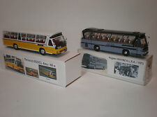 1/43 Set of two buses Pegaso 5023 CL & Pegaso 6031/N2 ALSA 1970's