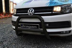 Pour-2004-2010-Volkswagen-Transporter-T5-Buffles-Barre-un-Eu-Approuve-Ec-Noir