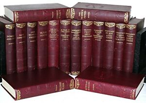 Charles-Dickens-16-BOOK-COLLECTION-Circa-undated-1930-039-s-Vintage-86-YEARS-OLD