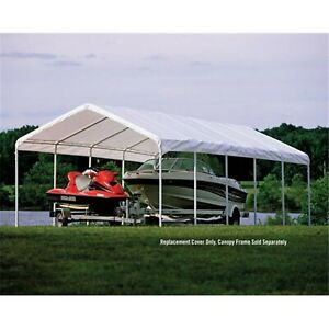 ShelterLogic Carport Canopy Replacement Top - SuperMax 12 ...