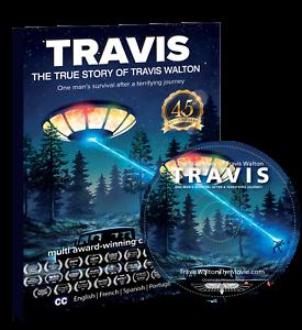 TRAVIS - The True Story of Travis Walton, DVD, 45th Anniversary Edition, 90 min.