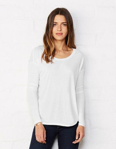 Damen Flowy Long Sleeve T-ShirtBella