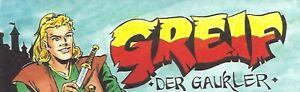GREIF-Rittercomic-Grossband-Auswahl