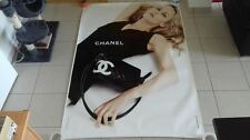 AFFICHE CHANEL VANESSA PARADIS 4x6 ft Shelter Original Fashion Luxury Poster