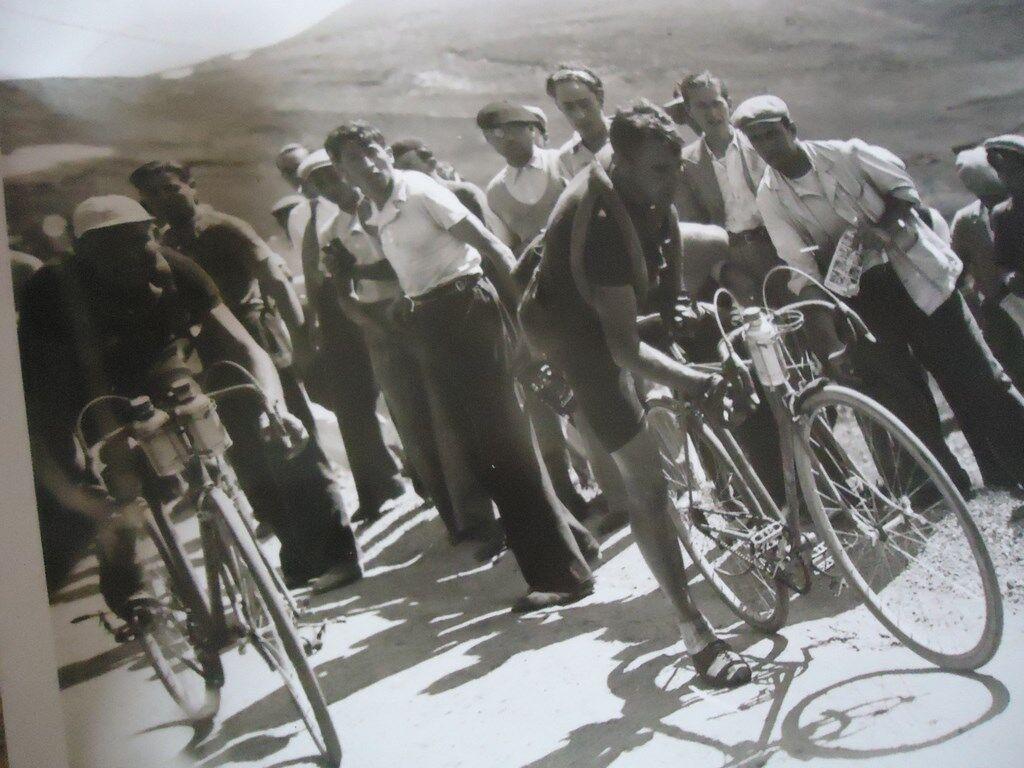 TOUR DE FRANCE 1936 PHOTO COL COL COL D' ALLOS MAES SYLVERE CREVAISON 9é ETAPE PROVENCE 4cde5b