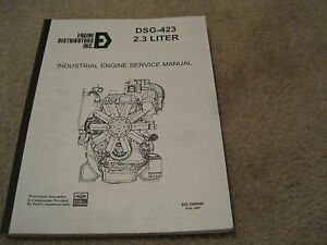 ford dsg 423 industrial engine service manual engine distributors rh ebay com 2003 Ford Mustang Gear Shift Knob Ford Lightning Rims