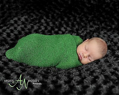 Newborn Rayon Stretch Wrap - 10 Colors Available - Photo Prop