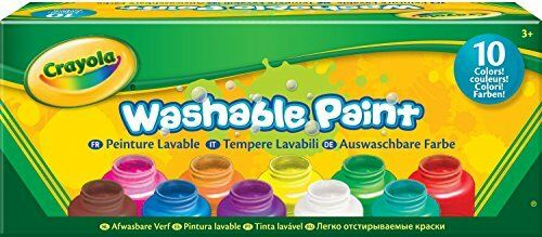 Crayola Washable Kids Paint Set of 10