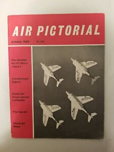 Air-Pictorial-Magazine-Vintage-Aircraft-Military-Civilian-WW2-Oct-1959