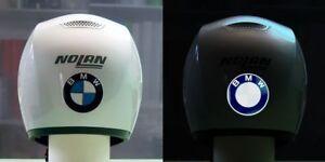 Sticker-retro-reflechissant-BMW-pour-casque-Nine-T-GS-GT-6-5cm-x-6-5cm