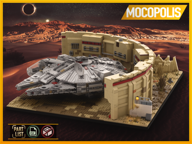 NO PARTS on TatooinePDF instructions LEGO MOC Star Wars Base Outpost