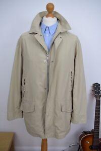 Mens Large Porter Size Mr 50 Zegna Mackintosh Rain Ermenegildo Mac Coat £1890 40 RqwIYgTx