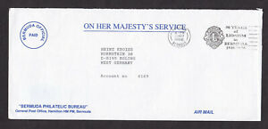Bermuda-1996-Official-on-Her-Majesty-039-s-Service-Cover