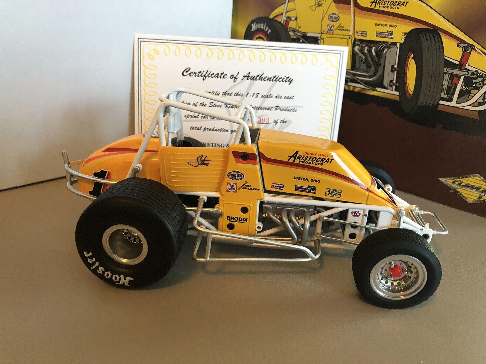 GMP 1 18 Scale Aristocrat Products Steve Kinser Die-Cast Sprint Car