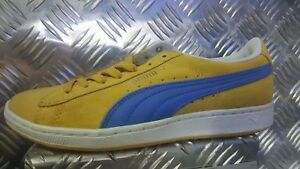 Scarpe PUMA SUPERSUEDE WN'S 351275 GIALLO BLU