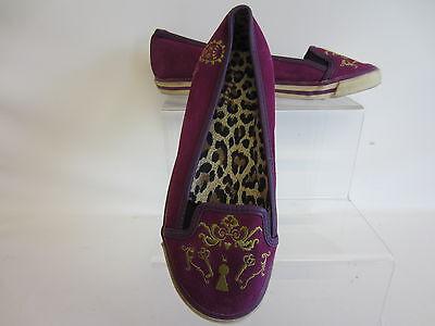 KILLAH Zapatos Buggy Mujer Zapatillas Ciruela Talla UK 4 ( Go)