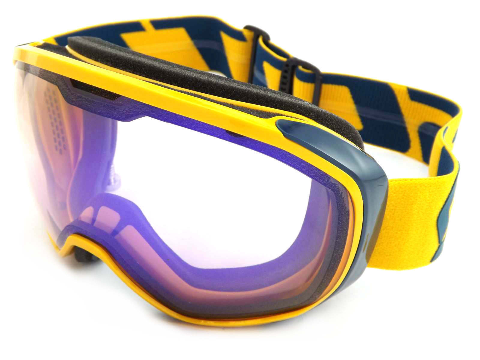 SCOTT - FIX ski snow Goggles CITRUS YELLOW  CORAL blueE  Illuminator Lens 244589