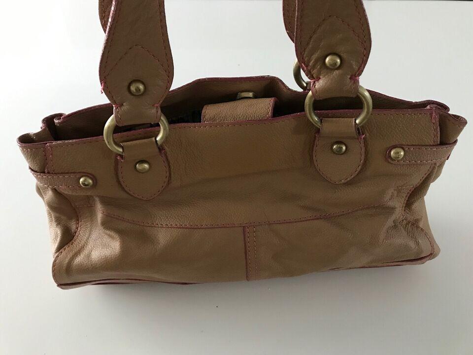 Anden håndtaske, andet mærke, læder