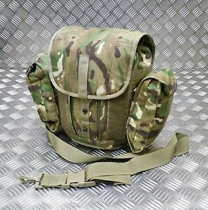 Genuine-British-Army-Gas-Mask-Bag-MTP-Camo-Field-Pack-Respirator-Case-Molle-G1