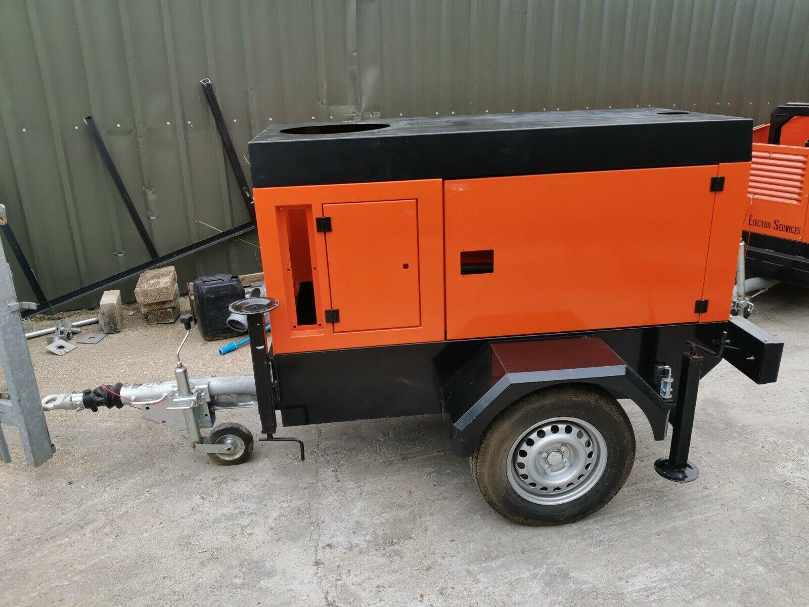1350Kg Knott Avonride Generator Trailer Chassis With Enclosure New Build INC VAT